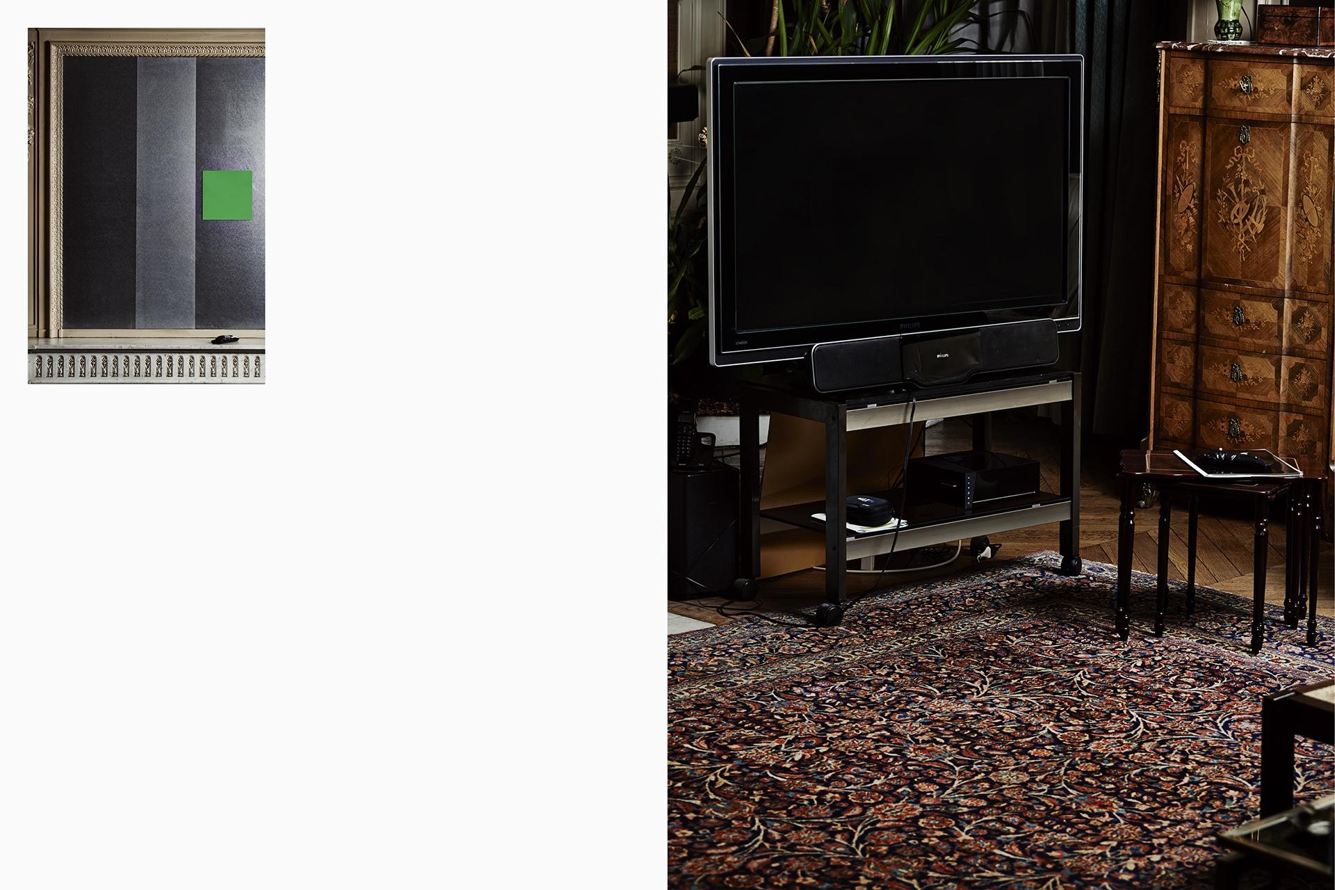 Télévision N1 1412 BC 040 076 ANDRE (BC)