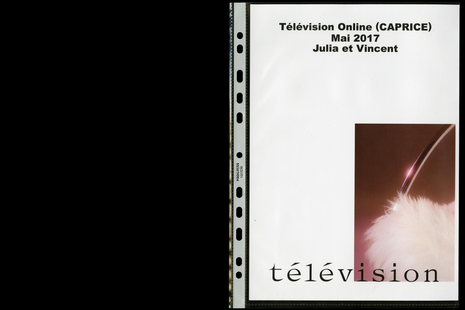 Télévision OL 1701 JV 017 CAPRICE (JV)